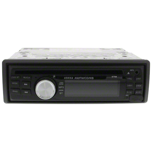 33194 am fm radio cd player for case ih tractors shoup. Black Bedroom Furniture Sets. Home Design Ideas