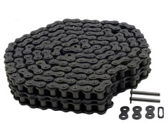 A60-2RC - Double Wide Roller Chain