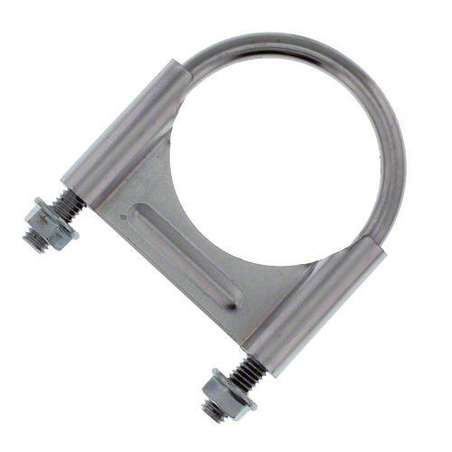 CL212C - Chrome U-Bolt Muffler Clamp