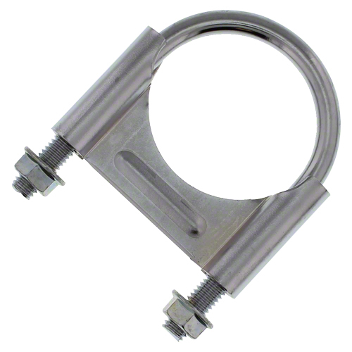 CL214C - Chrome U-Bolt Muffler Clamp