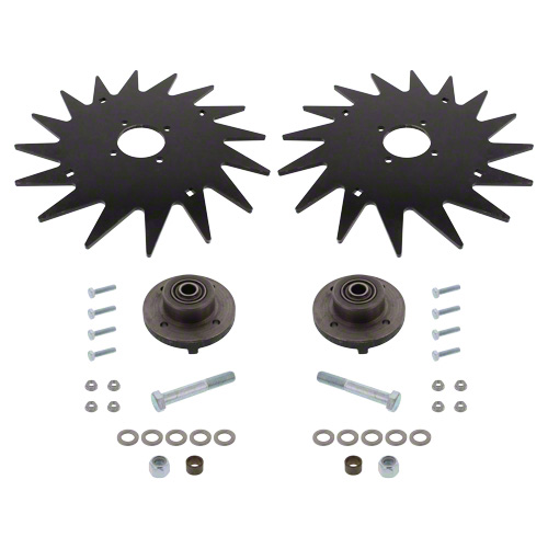 "CWA1760 - 13"" Spiked Closing Wheel Set"