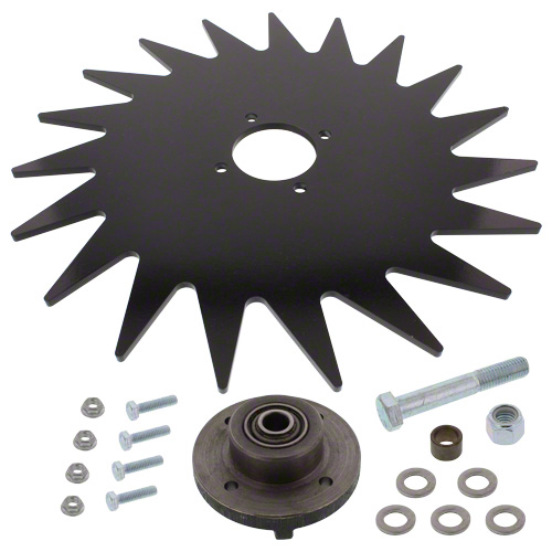 "CWA1765 - 15"" Spiked Closing Wheel"