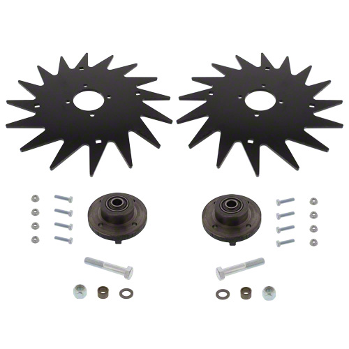 "CWA3010 - 13"" Spiked Closing Wheel Set"