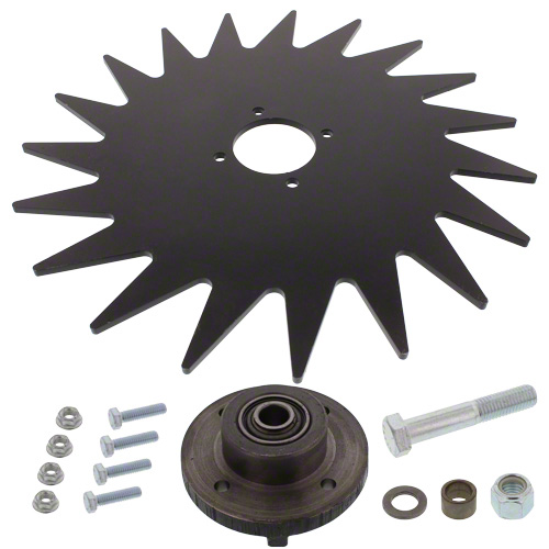 "CWA3015 - 15"" Spiked Closing Wheel"