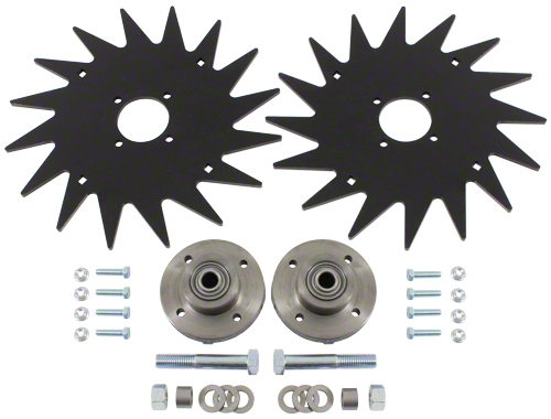 "CWA6000 - 13"" Spiked Closing Wheel Set"
