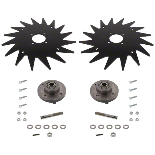 "CWA7000 - 13"" Spiked Closing Wheel Set"