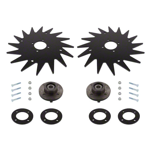 "CWA7200 - 13"" Spiked Closing Wheel Set"