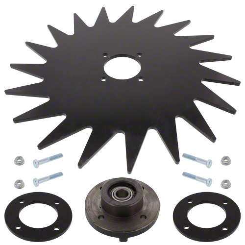 "CWA7215 - 15"" Spiked Closing Wheel"