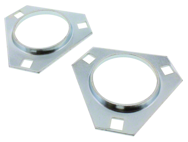 3-hole Triangular Flange