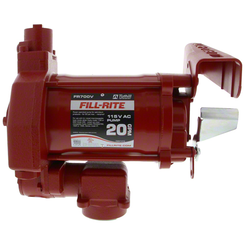 FR700 - 115v AC Heavy Duty Fuel Pump 20 GPM