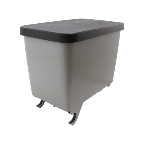R2125 - 1.6 Bushel Grey Poly Seed Hopper
