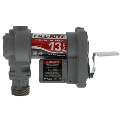 SD602 - Fill-Rite 115 Volt AC Standard Duty Fuel Pump