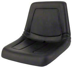 High Back Mower Seat