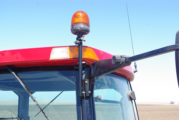 WL7500 - Rotary Beacon For Case-IH Tractors