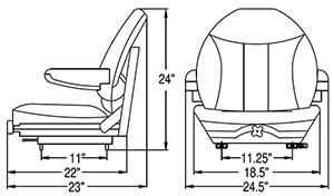 John Deere Seat Switch