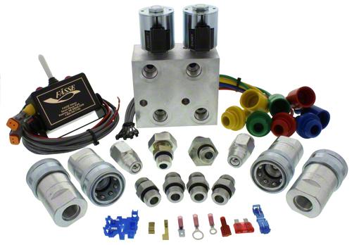 Tractor Hydraulic Diverter Valve 12v : Fasse valves remote master iso shoup